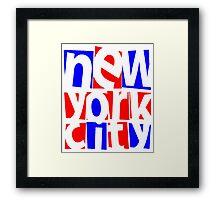 NYC Framed Print