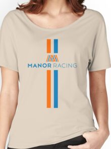 Manor F1 Team Rio Haryanto Pascal Wehrlein Women's Relaxed Fit T-Shirt