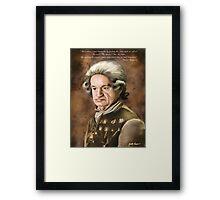 Monsieur Raymond Framed Print