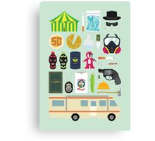 Breaking Bad Illustration Canvas Print