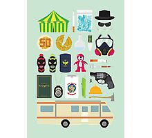 Breaking Bad Illustration Photographic Print