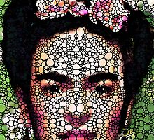 Frida Kahlo Art - Define Beauty by Sharon Cummings