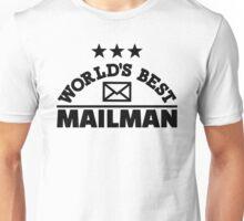World's best mailman Unisex T-Shirt