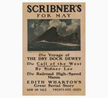 Artist Posters Scribner's for May The voyage of the dry dock dewey 0906 One Piece - Long Sleeve