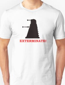 Exterminate - Doctor Who T-Shirt