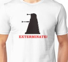 Exterminate - Doctor Who Unisex T-Shirt