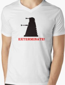 Exterminate - Doctor Who Mens V-Neck T-Shirt