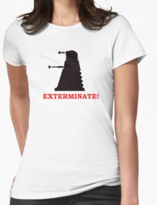 Exterminate - Doctor Who Womens Fitted T-Shirt