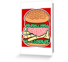 TWD Burger Greeting Card