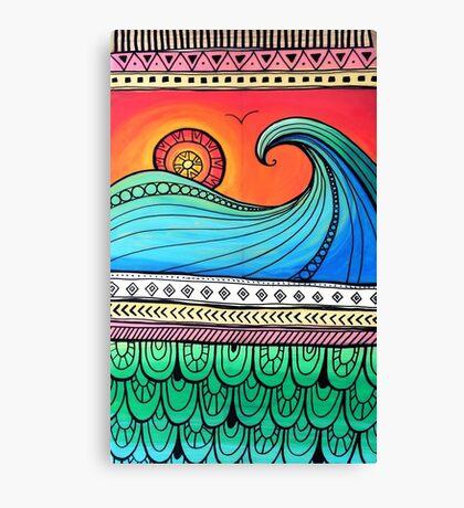 Sayulita Sunrise Surf Sessions Canvas Print