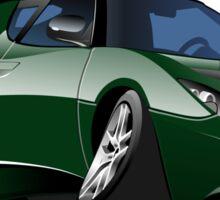 Cartoon Sportcar Sticker