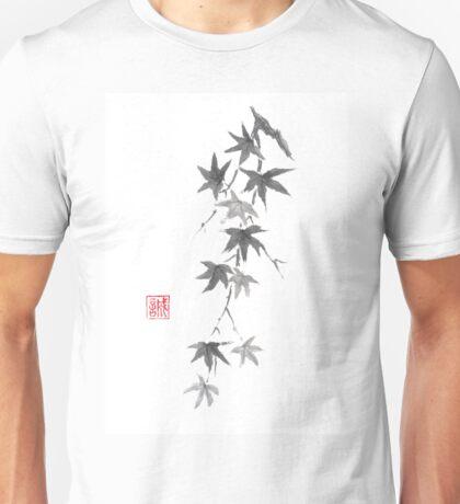 Star rain sumi-e painting Unisex T-Shirt