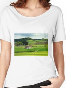 Spring in Switzerland Women's Relaxed Fit T-Shirt