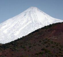 El Teide: Snow Capped Sticker