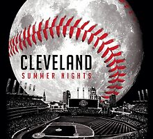 Cleveland Summer Nights – Cards by WeBleedOhio
