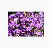Tiny Bright Purple Flowers Unisex T-Shirt