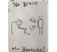 Brainwashed.  iPad Case/Skin