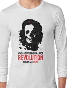 Che Skull Revolution Long Sleeve T-Shirt