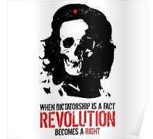 Che Skull Revolution Poster