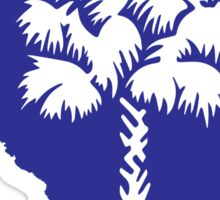 South Carolina & Palmetto Tree Sticker