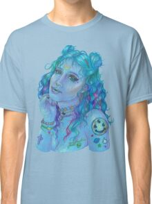 Space Grunge Girl Classic T-Shirt