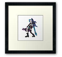 Jinx Framed Print