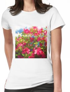 Pink Azaleas Womens Fitted T-Shirt