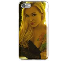 Portrait of a Blond  iPhone Case/Skin