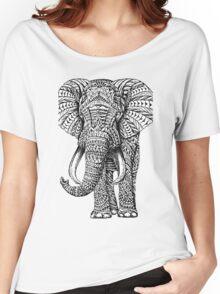 elephant art Women's Relaxed Fit T-Shirt