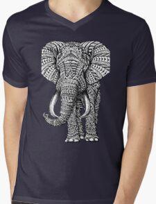 elephant art Mens V-Neck T-Shirt