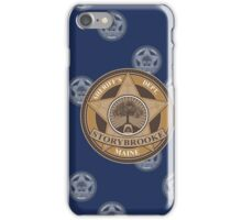 Once Upon a Time - Sheriff's Dept. iPhone Case/Skin