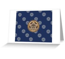 Once Upon a Time - Sheriff's Dept. Greeting Card