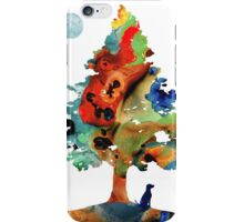 Dog Art - Contemplation 2 - By Sharon Cummings  iPhone Case/Skin