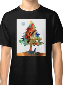 Dog Art - Contemplation 2 - By Sharon Cummings  Classic T-Shirt