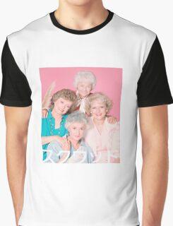 Golden Girls Squad Kanji  Graphic T-Shirt
