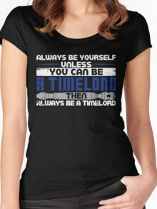 Timelord Women's Fitted Scoop T-Shirt