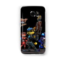 Ratchet And Clank Warrior In Action Samsung Galaxy Case/Skin