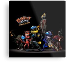Ratchet And Clank Warrior In Action Metal Print