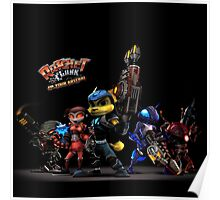 Ratchet And Clank Warrior In Action Poster