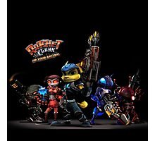 Ratchet And Clank Warrior In Action Photographic Print