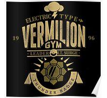 Vermillion Gym Poster