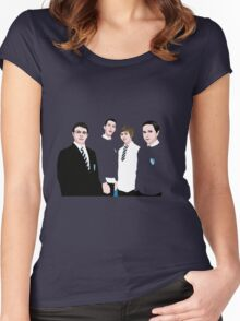 The Inbetweeners Women's Fitted Scoop T-Shirt