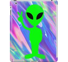 alien hologram iPad Case/Skin