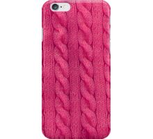 Pink Cables iPhone Case/Skin