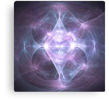 The Diamond of Enlightened Living [Museum of Mount Olympus] | Original Fractal Art  Canvas Print