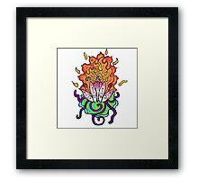 Transformation Flower Framed Print