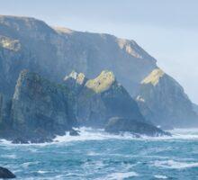 Cliffs at Port, Glencolmcille Sticker