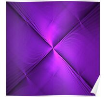 Origin of Purple | Original Fractal Art  Poster