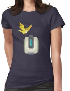 Minimalist Bastion and Ganymede Womens Fitted T-Shirt