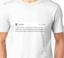 Ducks Tweet Unisex T-Shirt